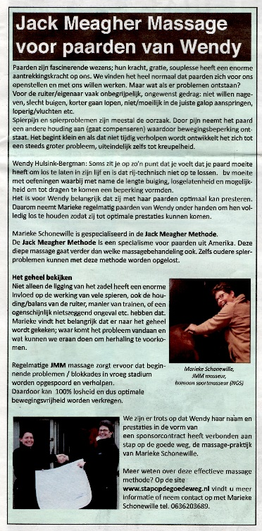Redactioneel Paard in Beeld april 2014