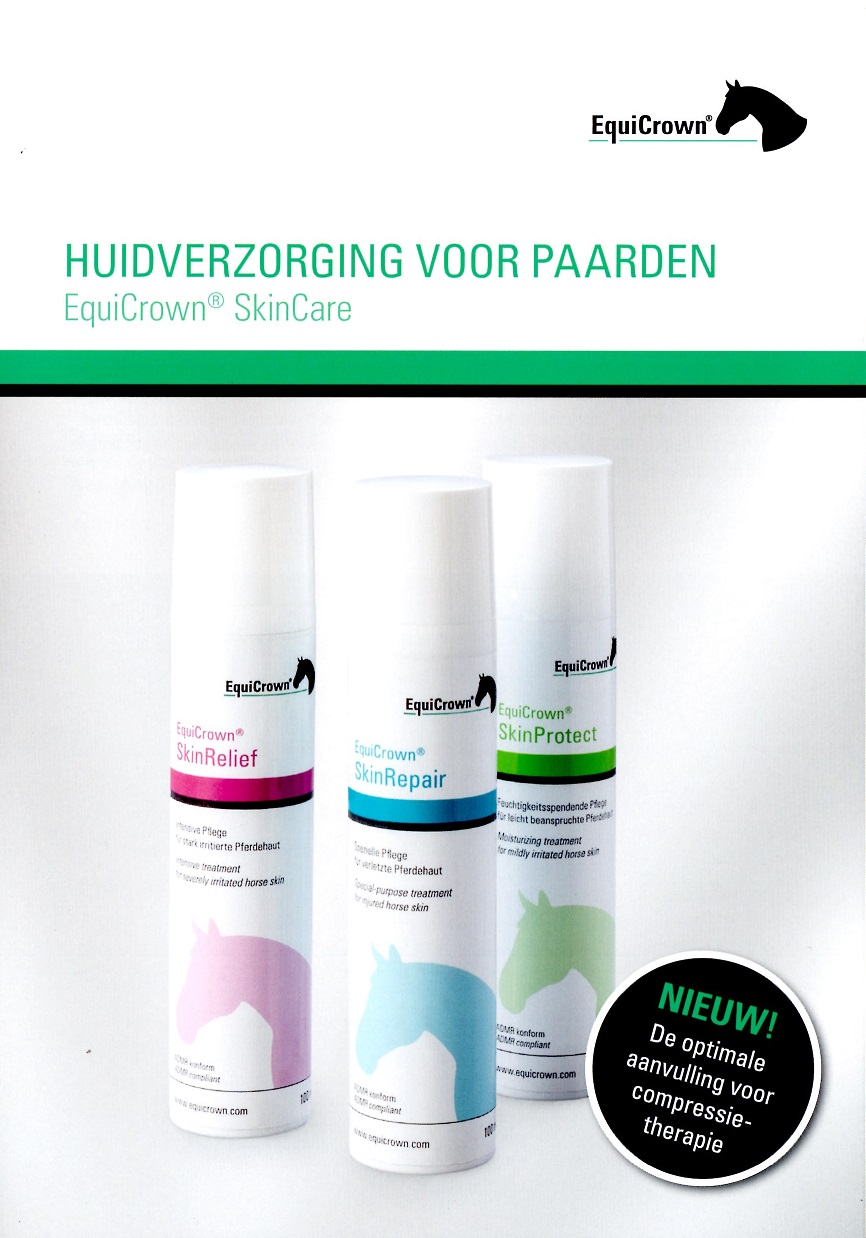 folder huidverzorging EquiCrwn